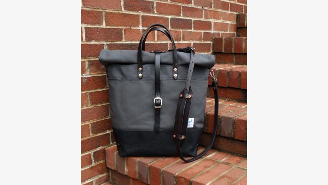 Canvas Strap Roll Waxed Canvas Roll Top Rucksack